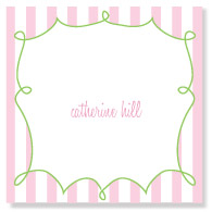 Loopdeloo Pink Stripes/Set of 9