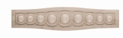 01802437HM1 Infinity Carved Wood Onlay with Border Small Hard Maple