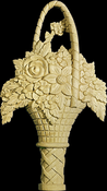 Onlay Moulding Carved Detail Collection OY201_16-HM
