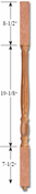 Savannah Red Oak Baluster