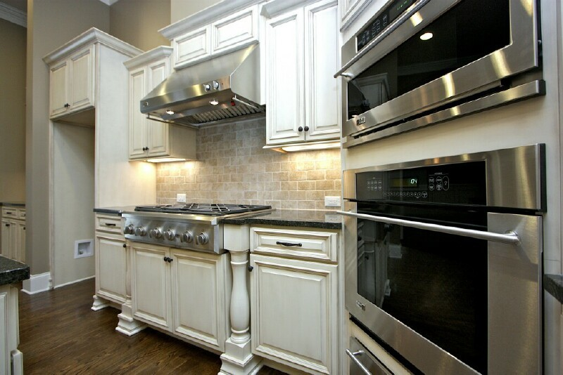 Timberland Franklin White Chocolate Kitchen Cabinet  Wall Cabinets