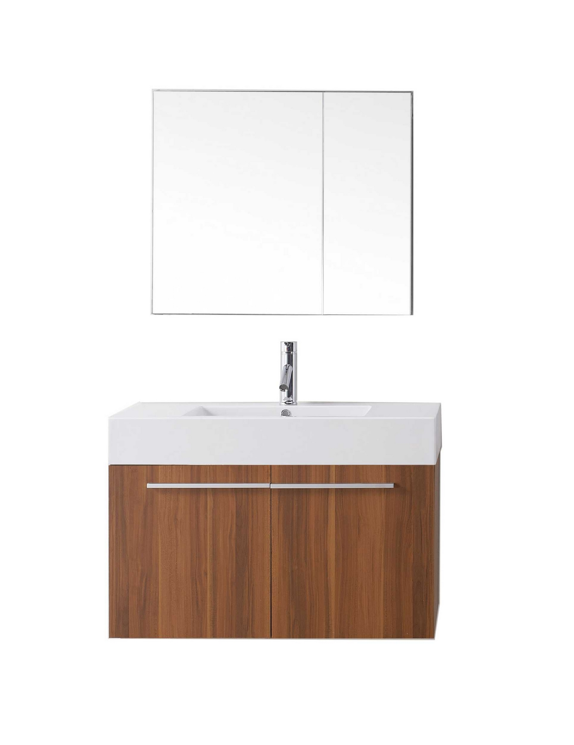 virtu usa midori 36 single bathroom vanity cabinet set in plum