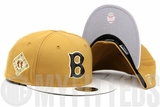 Boston Braves 1912 World Series Birch Veneer Sandstone Timberland Mac & Cheese Field Boot New Era Hat