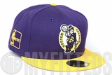 Boston Celtics Concord Argent Gold Los Angeles Lakers Colors Rivalry New Era Fitted Cap