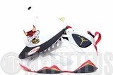 "Chicago Bulls Glacial White Midnight Navy USA Flag Air Jordan VII ""Olympic"" New Era Snapback"