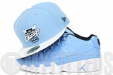 "Chicago Bulls Ultra Blue Glacial White Jet Black Air Jordan IX Low ""Pantone"" New Era Fitted Cap"