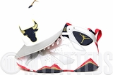"Chicago Bulls White Silver Navy Gold Air Jordan VII ""Olympic"" Matching Mitchell & Ness Snapback"