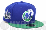 Dallas Mavericks 2010 NBA All Star Game Club Royal Lucky Green New Era Fitted Cap