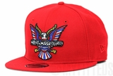 Diplomats Dipset Harlem World Big Eagle Logo Scarlet Multi Color New Era 9FIFTY Snapback