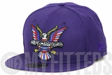 Diplomats Dipset Harlem World Big Eagle Logo Purple City Inspired Concord Multi Color New Era Hat
