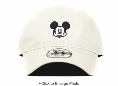 Disney Mickey Mouse Face Sandstone Official Color 9TWENTY New Era Dad Hat