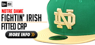 The Notre Dame Lucky Green New Era Hat