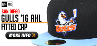 The San Diego Gulls New Era Hat