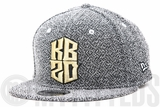Kobe Bryant KB20 Hero Villain Neutral Black Woven French Terry Black Mamba New Era Snapback