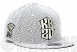Kobe Bryant KB20 Hero Villain Neutral White Woven French Terry Black Mamba New Era Snapback