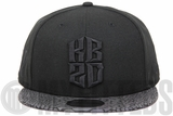 Kobe Bryant KB20 Hero Villain Xeno Print Black Mamba Jet Black Multi Color New Era Snapback