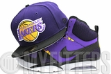 Los Angeles Lakers Concord Jet Black Yellow Glacial White New Era Hat