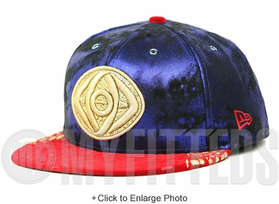 Marvel Comics Dr. Strange Character Armor Distressed Shimmering Club Royal Red Velvet New Era Hat