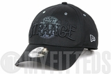 Marvel Dr. Strange Reflective Crest Jet Black 2016 Movie New Era 9FORTY Snapback Dad Hat