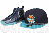 New York Islanders Midnight Navy Pure Aqua '95-'97 Seasons Inspired Custom New Era Fitted Cap