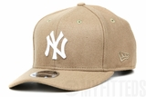 New York Yankees Team Demanded Wheat Toast Melton Pre-Curved Low-Profile New Era Snapback