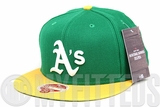 "Oakland Athletics Lucky Green Argent Gold Heritage Series ""Bay Area Collection"" New Era Hat"