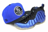 "Penny 1� ""20"" Forza Azure Jet Black Air Foamposite One XX ""Royal Blue"" Matching New Era Fitted Cap"