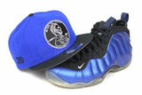 "Penny 1� ""20"" Forza Azure Jet Black Air Foamposite One XX ""Royal Blue"" Matching New Era Snapback"