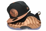"Penny 1� One Cent Jet Black Metallic Copper Air Foamposite One ""Metallic Copper"" New Era Snapback"