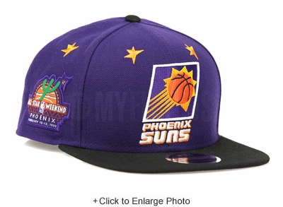 Phoenix Suns Weekend Glory 1995 NBA All Star Game New Era Original Fit Snapback