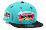 San Antonio Spurs Weekend Glory 1996 NBA All Star Game New Era Original Fit Snapback