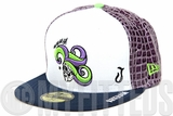 Suicide Squad 2016 DC Comics File #001 The Joker Character Armor New Era Fitted Cap