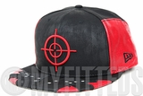Suicide Squad DC Comics File #003 Dead Shot Character Armor Jet Black Scarlet New Era Fitted Cap