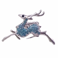BLANCHO RING JEWELRY DEER JEWELLERY LIGHT BLUE
