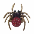 BLANCHO RING JEWELRY SPIDER BLACK HOUSE JEWELLERY RED