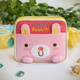 [Cute Rabbit] Embroidered Applique Swingpack Bag Purse / Wallet Bag / Shoulder Bag (5.5*4.7*1.2)