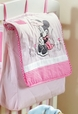Disney Baby Minnie Mouse Flower Crib Bedding Accesory - Diaper Bag / Nappy Bag