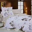 [Faint Aroma] 100% Cotton 3PC Comforter Cover/Duvet Cover Combo (Twin Size)