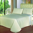 Luxury Ivory Checkered Quilted Wrinkle Free Microfiber 3 Piece Coverlets Set Full/Queen