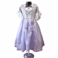 Girls Deluxe Rapunzel Quality Dress Up Costume