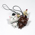 [Happy Cat-2] - Cell Phone Charm Strap / Camera Charm Strap / Handbags Charms