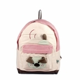 [Naughty Bear] 100% Cotton Fabric Art School Backpack / Outdoor Backpack