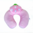 [Pink Strawberry] Neck Cushion / Neck Pad  (12 by 12 inches)