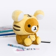 [Rilakkuma - Chocolate] Plush Gadget Storage Box / Trinket Box / Pen Pencil Holder (9.8 inch height)
