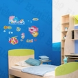 Sea Fish - Wall Decals Stickers Appliques Home Decor