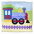 Trains, Planes and Trucks Plush Pillow