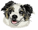 aussie006 Australian Shepherd (small or large design)