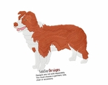 aussie010 Australian Shepherd (small or large design)