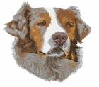 aussie015 Australian Shepherd (small or large design)