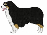 aussie016 Australian Shepherd (small or large design)
